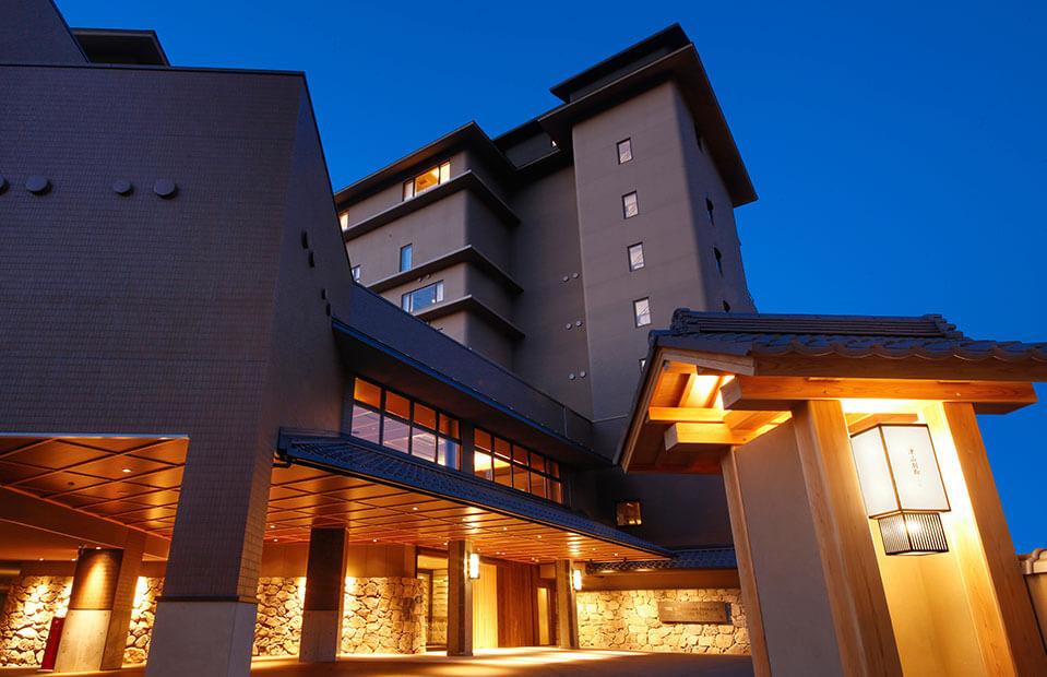 ザ・シロヤマテラス津山別邸のホテル外観